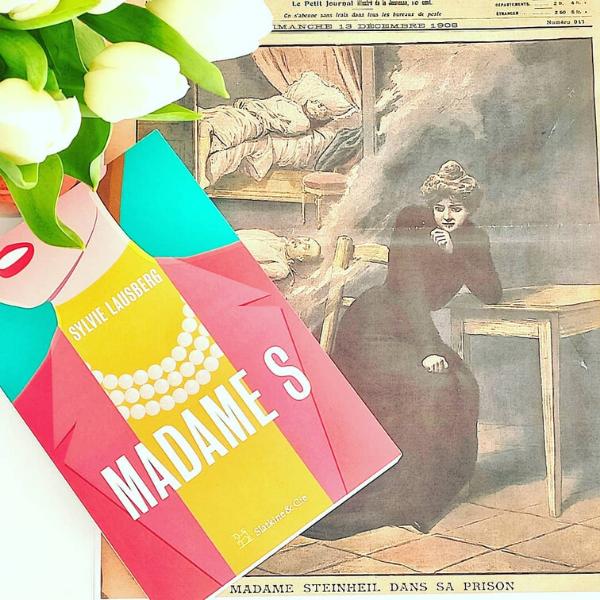 MadameS Sylvie Lausberg Biograhie éditions Slatkine&Cie Le Carnet de Jessica Blog Littéraire